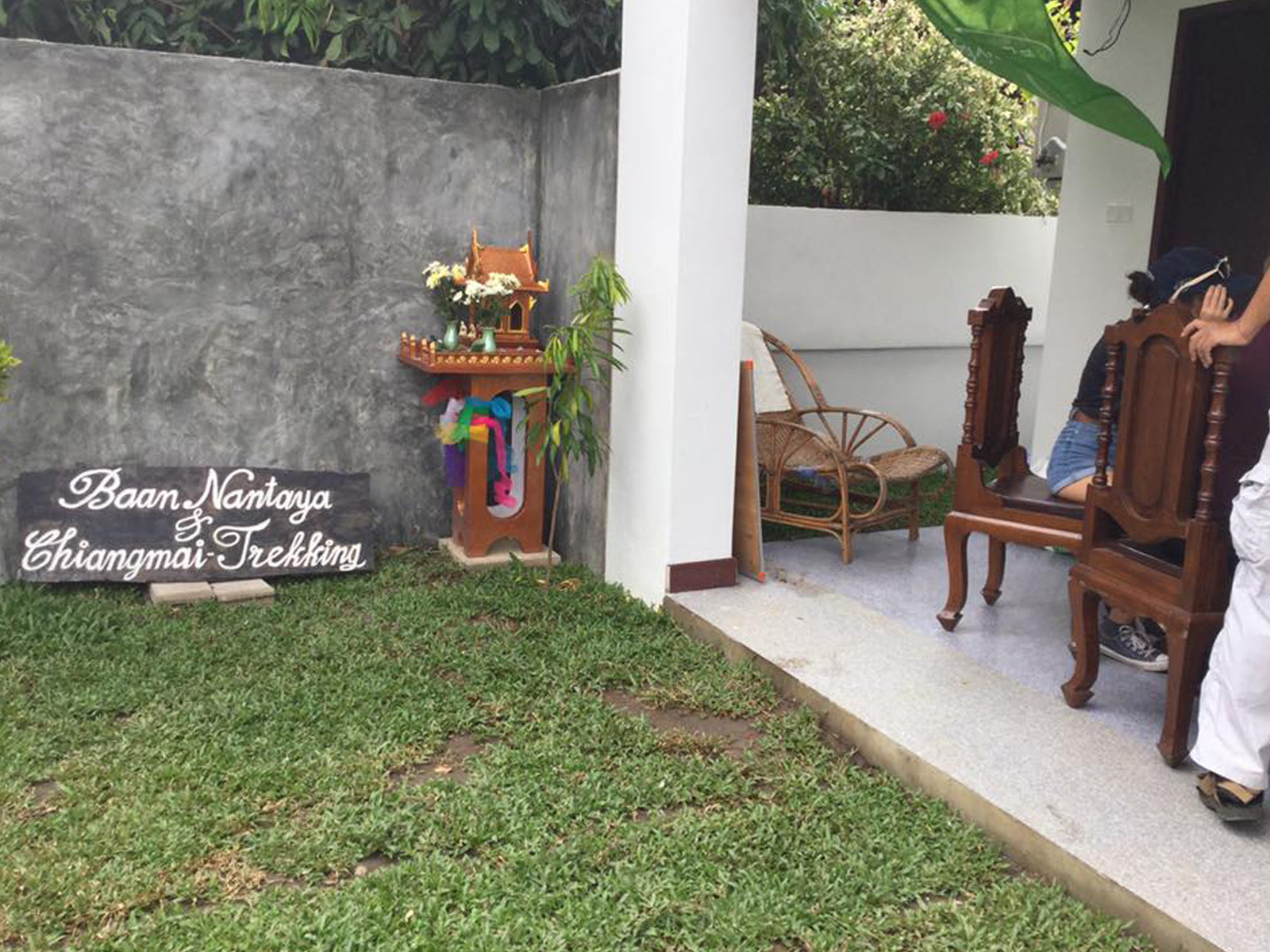 Guesthouse in the Old City of Chiang Mai | Chiang Mai Trekking | Das beste Trekking in Chiang Mai mit Piroon Nantaya