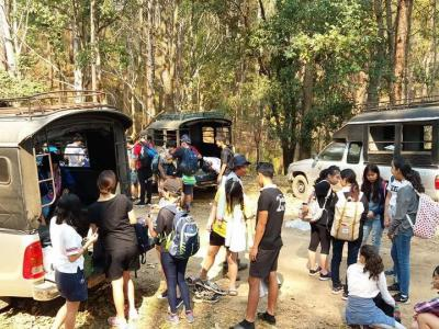 "3 day2night t trekking  from Student   ""TRAILL INTERNATIOANL SCHOOL"" 