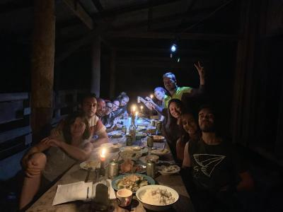 Requel and Group 11person from  Spanish  | Chiang Mai Trekking | Das beste Trekking in Chiang Mai mit Piroon Nantaya